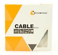 Ciclovation Basic Road Bike Brake Cable, Zinc, 1.6mm x 1700mm