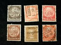 Deutsches Reich - Partie Marken mit Sonder Stempel  Nr. 2