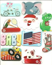 Lot of (10) Target Gift Cards No $ Value Collectible All Diecut Flag Spot Bike