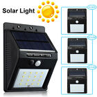 8-16 LED Solar Power Motion Sensor Outdoor Waterproof Garden Security Lamp Light