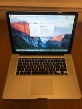 "Apple MacBook Pro 15"" Core 2 Due - 2.53 GHz - 4GB - 320 GB Late 2008"