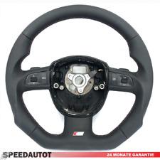 Échange S-LINE Aplati Volant Multifonction Cuir Audi A3, A4, A5, A6, A7 Q5--
