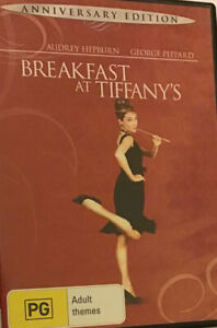 Breakfast At Tiffanys (DVD, 1961) Anniversary Edition R4,Disc Is Like New,Free📮