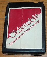 Olds Dealer Complimentary 8 Track Tape Cartridge Used OEM (4842)