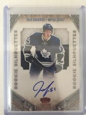 2011-12 Crown Royale Jake Gardiner Auto Patch 01/99 Rookie Silhouettes Panini