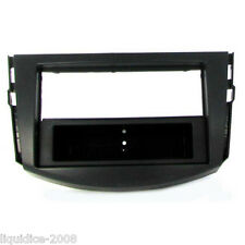 CT24TY03 TOYOTA RAV 4 2006 to 2013 BLACK SINGLE DIN FASCIA ADAPTER PANEL PLATE