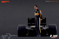 1/18 Ayrton Senna Lotus figure VERY RARE !!! for 1:18 Autoart Minichamps