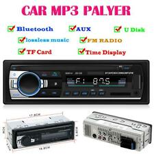 1DIN Car Stereo In Dash Bluetooth 4.0 MP3 Player Aux USB FM Radio Auto Receiver