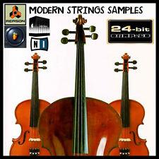 Modern Strings Orchestra reason kontakt soundfont fl studio apple logic exs24