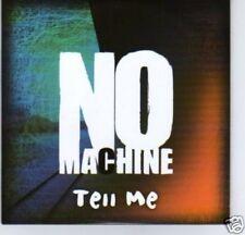 (C993) No Machine, Tell Me - DJ CD