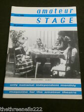 AMATEUR STAGE - JUNE 1985