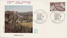 FRANCE FDC - 896 1807 3 VALLEE DU LOT 7 9 1974 - LUXE