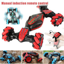 Remote Control Off-Road Stunt Car Gesture Sensing 4WD Double Sided Twisting Flip