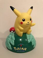Trendmasters Nintendo Pokemon 1999 #25 Pikachu Talking Figurine VERY RARE!