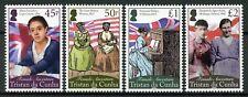 Tristan da Cunha People Stamps 2020 MNH Female Ancestors Maria Leenders 4v Set