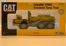 1990 Vintage Ertl Caterpillar D350D Articulated Dump Truck 1:50 Scale