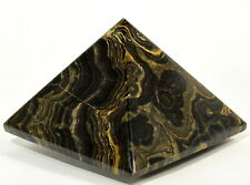 7cm 225g Stromatolite Alghe Fossile Pyramid Lucidato Natyral Pietra di Cristallo