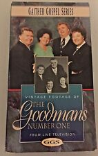 Gaither Gospel Series THE GOODMANS Number One from Live TV VHS 1996