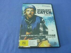 Deadliest Catch DVD Discovery Season 1 R4 Free Postage