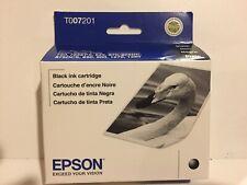 EPSON T007201 Black Ink Cartridge Brand New Sealed T007 201 Exp 10/11