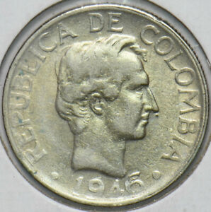 Colombia 1946 20 Centavos 192288 combine shipping