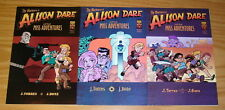 Return of Alison Dare: Little Miss Adventures #1-3 VF/NM complete series oni set