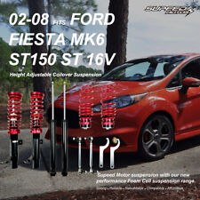 For Ford Fiesta Mk6 ST150 ST 16v 02-08 Coilover Suspension Kit Lowering Springs