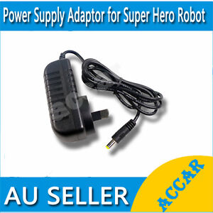 Power Supply Adaptor for Super Hero Robot Vacuum cleaner m-1688A Battery Charger