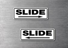 Slide door stickers quality 7 year water & fade proof