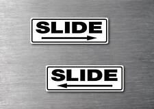 Slide door stickers quality 7 year water & fade proof