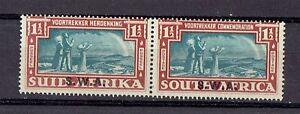 South West Africa 1939 Voortrekker Commem greenish-blue/brown 1.5d MLH Sc B11