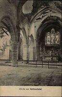 Hattonchatel Frankreich Lorraine ~1914/18 Kirche Altar Church Eglise ungelaufen