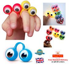 LED Intermitente dedo espías Niños Pelotas Ojos Títeres De Mano Juego de Relleno Bolsa Fiesta Reino Unido