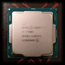 Intel Core i7 7700K 4.2 GHz Quad-Core Processor SR33A LGA1151