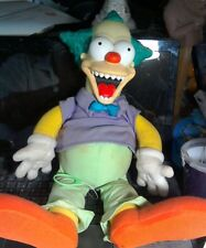 the simpsons evil krusty the clown talking doll