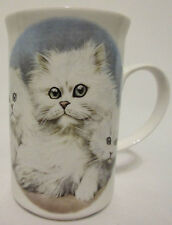 St George Chinchilla Cat History Fine Bone China Made England Kitten Pet Mug Cup