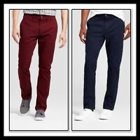 NEW * GOODFELLOW CHINO Straight Fit STRETCH 3 Colors * Reg & B&T * MULTI SIZES