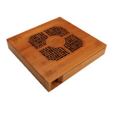 Handmade Ancient Style Bamboo Gongfu Tea Ceremony Serving Table Tray Storage