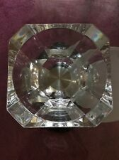 Waterford Crystal Modern Large Centerpiece Bowl Rare Heavy