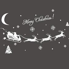 Decor Home Christmas Christmas Stickers Decal Decoration Window