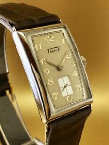 VINTAGE & FINE TISSOT HAND WINDING 1940's GREAT CONDITION WristWatch