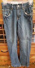 C0239 Levis Girls Casual Dress Cotton Blend Blue Jeans Size 10 Combine Ship