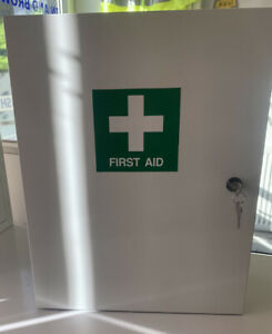 x1 First Aid Medical Cabinet
