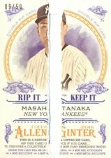 2016 (Yankees) Allen & Ginter Double Rip Cards Ripped #17 Severino/Tanaka - POOR