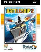 Battleship 2 PC CD ROM Arcade Adventure Missions Take Command Of Battleships