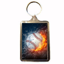 Baseball - Keyring (Water & Fire)