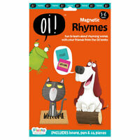 Oi Rhymes - Magnetic Set - Fun daily educational activity