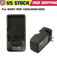 Rechargeable Battery AC WALL Charger for Sony PSP Slim 1000 1001 1002 2000 3000