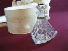Lenox Pave Jewels (Lead) Crystal, Triangle Perfume Bottle, New, 1999, LH1