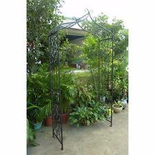 Garden Arch Artesian (2.36m x 1.2m) Gardman Metal Arches Wedding Arbour